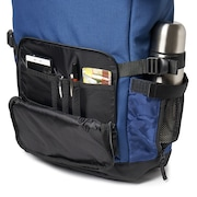Utility Rolled Up Backpack - Dark Blue