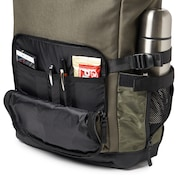 Utility Rolled Up Backpack - Dark Brush