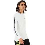Oakley Tnp Long Sleeve T-Shirt - Insect - White