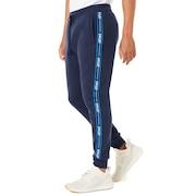 Street Logo Tape Fleece Pants - Fathom