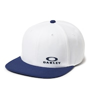 Bg Snap Back Cap - White