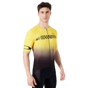 Colorblock Road Jersey - Black/Yellow