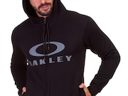 Moletom Oakley F/Z Pullover - Blackout