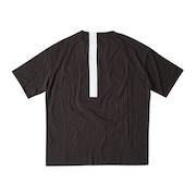 Geometric Multifabric Short-Sleeves Tee Osr - Brown
