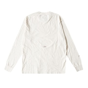 Luxe Gold Long-Sleeves Tee Osr - White