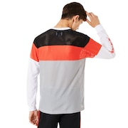 Oakley Tnp Color Block Sweatshirt - Stone Gray