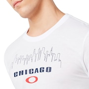 Chicago Skyline - White