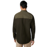 Hybrid Utility Shirt Long Sleeve - Dark Brush