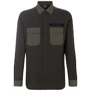 Hybrid Utility Shirt Long Sleeve - Dark Brush