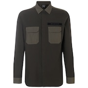 Hybrid Utility Shirt LS - Dark Brush