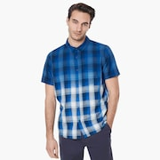 Gradient Check SS Shirt