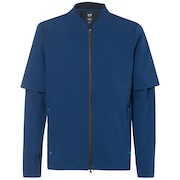 Albatross Rain Fz Jacket - Dark Blue