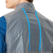 Targetline Waterproof Fz Shell - Dark Blue