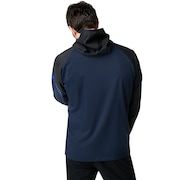Enhance Double Cloth Hoody Jacket.Qd 9.0 - Fathom