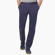 Stone Wash Chino Pant - Foggy Blue