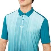 Infinity Line Golf Polo Short Sleeve - Petrol