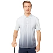 Infinity Line Golf Polo Short Sleeve - Light Gray