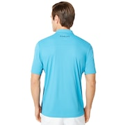 Infinity Line Golf Polo Short Sleeve - Stormed Blue