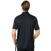 Ace Golf Polo Short Sleeve - Blackout