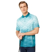 Barkie Gradient Golf Polo Short Sleeve