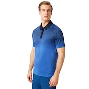 Four Jack Gradient Polo - Flash Blue