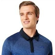 Four Jack Gradient Polo - Flash Blue