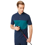Color Block Polo Short Sleeve