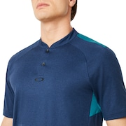 Ergonomic Evolution Polo Short Sleeve - Dark Blue Medium Heather