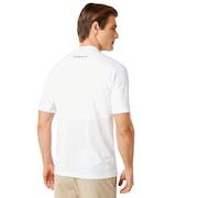 Ergonomic Ellipse Evo Golf Polo - White