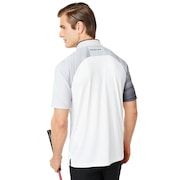 Aerodynamic Golf Polo Short Sleeve - White