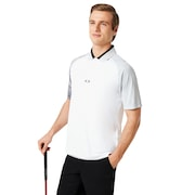Aerodynamic Golf Polo Short Sleeve - White