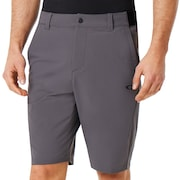 Engineered Chino Golf Short - Forged Iron