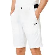 Engineered Chino Golf Short - White