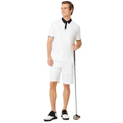 Engineered Chino Golf Short - White