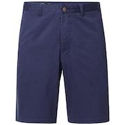 Stone Wash Chino Short - Foggy Blue