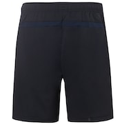 Enhance Slant Double Cloth Shorts 7Inch - Blackout