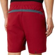 Enhance Slant Double Cloth Shorts 7Inch - Sundried Tomato