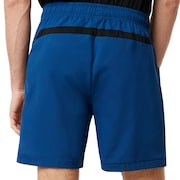 Enhance Slant Double Cloth Shorts 7Inch - Dark Blue