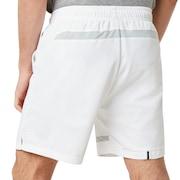 Enhance Slant Double Cloth Shorts 7Inch - White