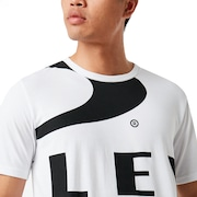 Big Ellipse Tee - White