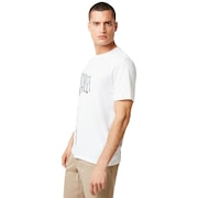 Flag Up Tee - White