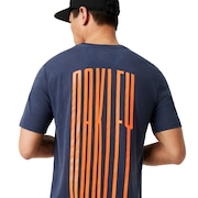 Stretch Tee - Foggy Blue