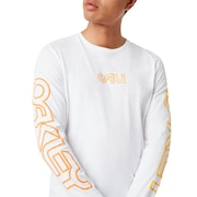 Cali Long Sleeves Tee - White