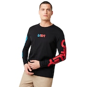 USA Star Long Sleeve Tee