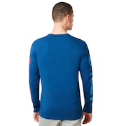 USA Star Long Sleeve Tee - Dark Blue