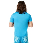 Ellipse Logo Rashguard - Hawaiian Blue