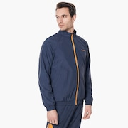 Legacy Ellipse Track Jacket - Foggy Blue