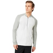 Engineered 1/4 Zip Sweater