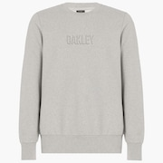 Clean Logo Crew Fleece - Granite Heather