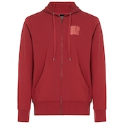 Urban Stretch Graphic Hoodie - Sundried Tomato